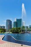 吉隆坡,马来西亚中心商务区地平线  库存照片