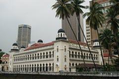 吉隆坡,马来西亚街道场面  库存照片
