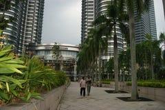 吉隆坡,马来西亚街道场面  库存图片