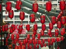 吉隆坡,马来西亚装饰的唐人街  免版税库存照片