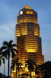 吉隆坡,马来西亚- 2017年1月10日:大众银行塔,一个著名摩天大楼在吉隆坡,马来西亚 免版税图库摄影