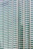 吉隆坡,马来西亚- 12月2017 07日:天然碱双塔背景 免版税库存照片