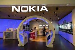 吉隆坡,马来西亚- 9月27 :诺基亚在Suria购物的Ma购物 库存图片