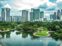 吉隆坡,马来西亚Citysacape  库存图片