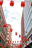 吉隆坡:2017年2月19日:红灯唐人街 免版税库存图片