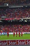 足球迷 图库摄影