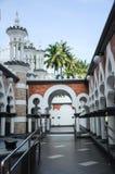 吉隆坡Jamek清真寺在马来西亚 免版税库存图片