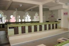 吉隆坡Jamek清真寺的洗净液在马来西亚 图库摄影