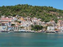 吉雄伯罗奔尼撒希腊港口  库存照片