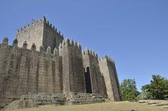 吉马朗伊什中世纪城堡  库存照片