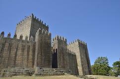 吉马朗伊什城堡 免版税库存图片