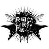 吉他岩石和roll_var 2 免版税库存照片