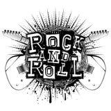 吉他岩石和roll_var 库存图片