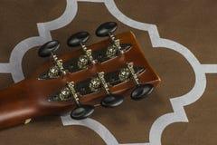 吉他把柄 免版税库存图片