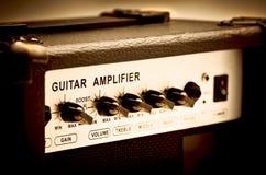吉他放大器 免版税库存图片