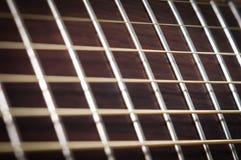 吉他脖子 免版税库存照片