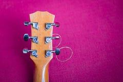 吉他调整的钥匙  免版税库存图片
