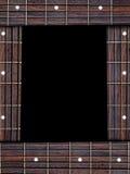 吉他音乐框架 免版税库存照片