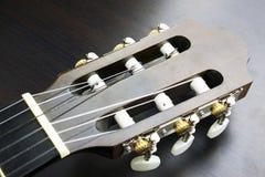 吉他顶头图象 图库摄影