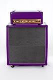 吉他Amp紫色 免版税库存图片