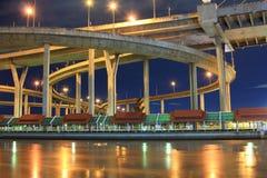 吊桥曲线  免版税库存图片