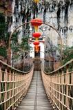 吊桥 库存照片