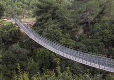 吊桥2 库存照片