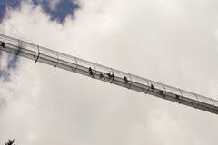 吊桥Highline 179 库存照片