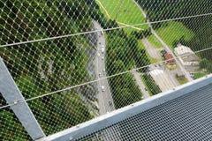吊桥Highline 179 库存图片