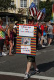 同性恋婚姻退伍军人 免版税库存图片
