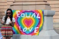 同性恋婚姻 免版税库存照片