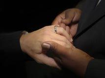 同性恋婚姻 图库摄影