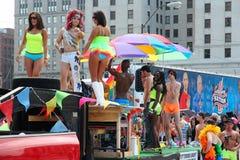 同性恋游行自豪感 免版税图库摄影