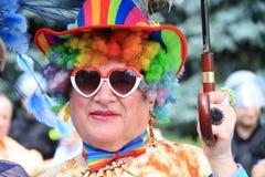 同性恋游行 免版税库存照片