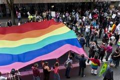 同性恋游行 库存图片
