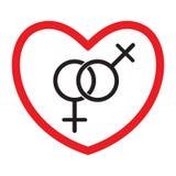 同性恋爱象 皇族释放例证