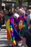 同性恋自豪日庆祝在托雷莫利诺斯角, MÃ ¡ laga 10 免版税库存图片