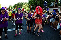 同性恋自豪日庆祝33 免版税库存图片