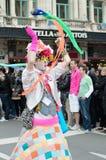 同性恋自豪日游行在布鲁塞尔 免版税图库摄影