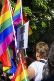 同性恋自豪日游行,塞浦路斯 图库摄影