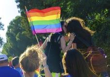 同性恋自豪日游行,塞浦路斯 库存照片