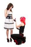 同性的婚姻 免版税图库摄影