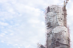 同情和慈悲大厦的女神 免版税图库摄影