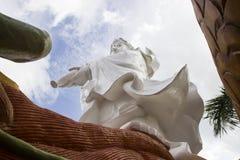同情和慈悲女神雕象 免版税库存图片