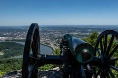 同盟大炮-点公园战场 库存图片