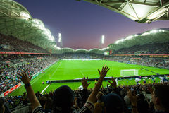 2015年同盟盛大最后的墨尔本胜利对悉尼FC 免版税图库摄影