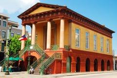 同盟者和南北战争博物馆,查尔斯顿,南卡罗来纳 库存照片