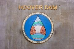 名为胡佛水坝的水电站,内华达 免版税图库摄影
