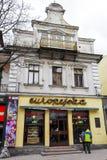 名为Europejska的著名咖啡馆,扎科帕内 库存图片
