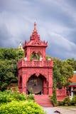 名为Wat Phra的佛教寺庙骇黎朋猜 免版税库存照片